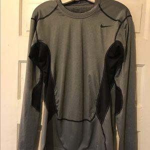 Nike pro combat long sleeve shirt size xl